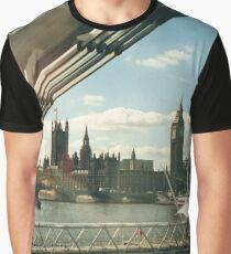 Simply A London Landscape Graphic T-Shirt
