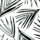 Palm Leaves Pattern #2 by Arell