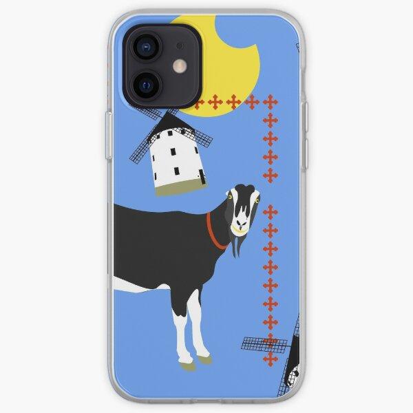 Sammy the goat of La Mancha iPhone Soft Case