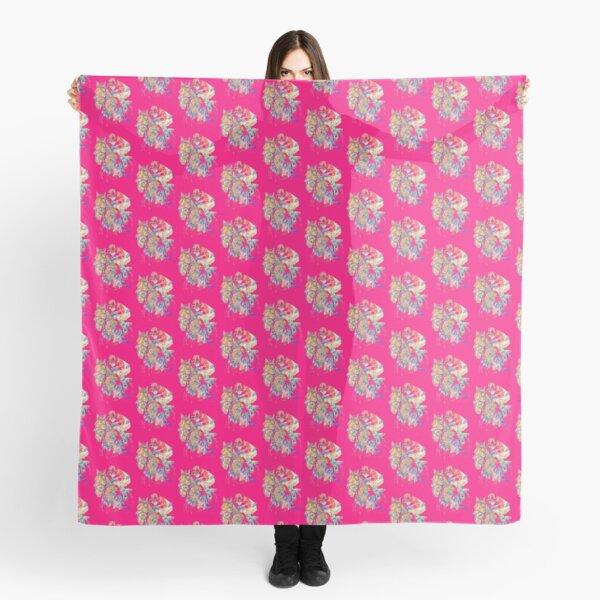Pinker Reiter Tuch