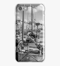 boats in a canal iPhone Case/Skin
