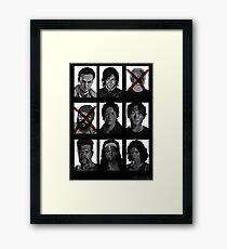 TWD Survivors Framed Print