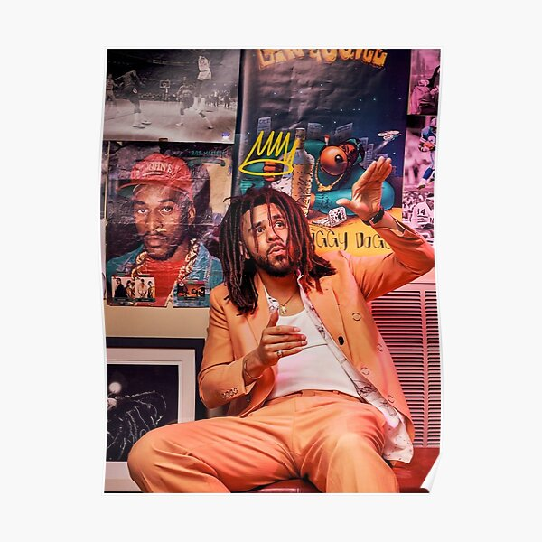 J Cole – King Cole | Cole World Poster Poster