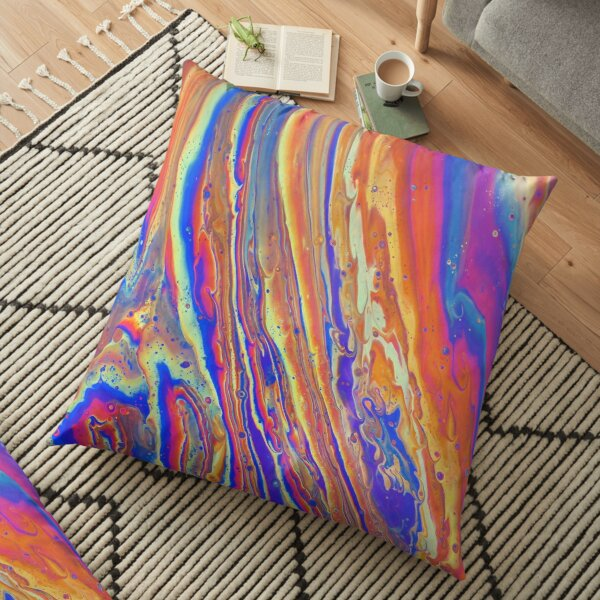 Rainbow Canyon Floor Pillow