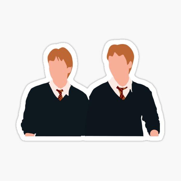 The Weasley Twins in Order of the Phoenix Sticker