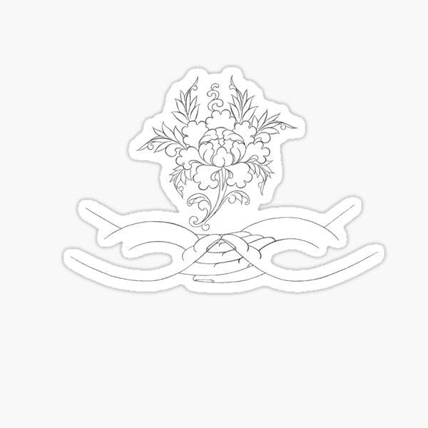 Padma-Amithaba Sticker