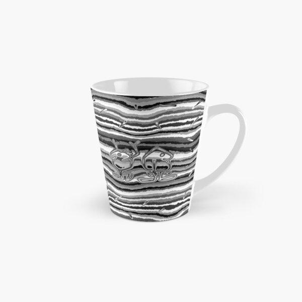 the Twins - black and white  Tall Mug