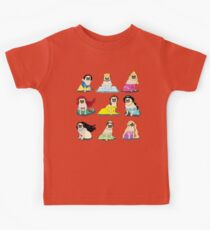 Pug Princesses Version 2 Kids Tee