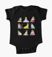 Pug Princesses Version 2 One Piece - Short Sleeve