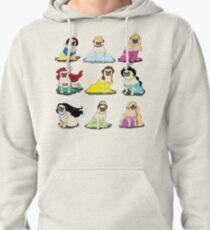 Pug Princesses Version 2 Pullover Hoodie