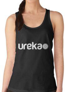 ureka: earth heart community - logo (white) T-Shirt