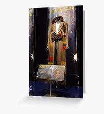 Doctor Who The Fourth Doctor Costume Greeting Card