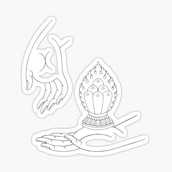 Ratna-Ratnasambhava Sticker