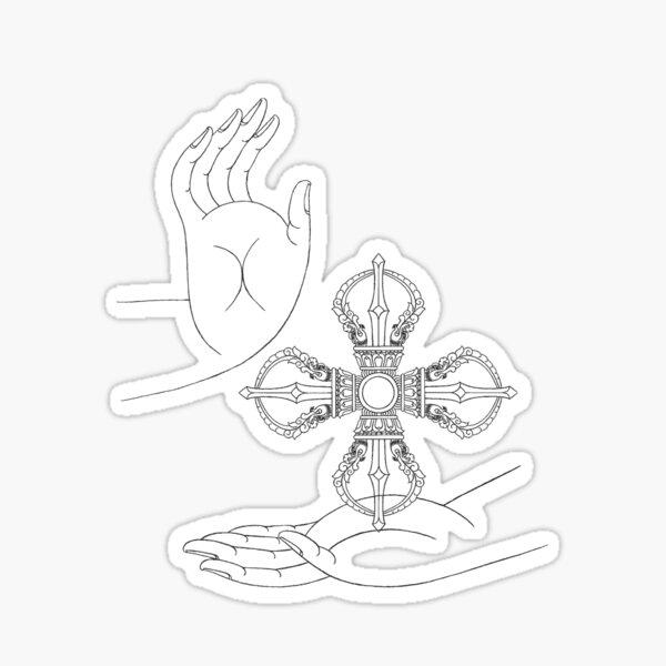 Karma-Amogasidhi Sticker