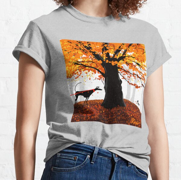 The Autumn Oak, The Hound, and The Squirrel Classic T-Shirt