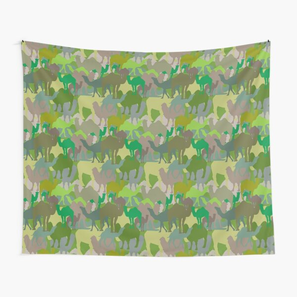 Jungle Camelflage Tapestry