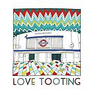 Love Tooting (Tooting Broadway Station) by Ludwig Wagner