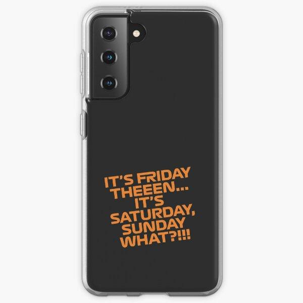 Fin de la semana de la carrera Lando Norris Funda blanda para Samsung Galaxy