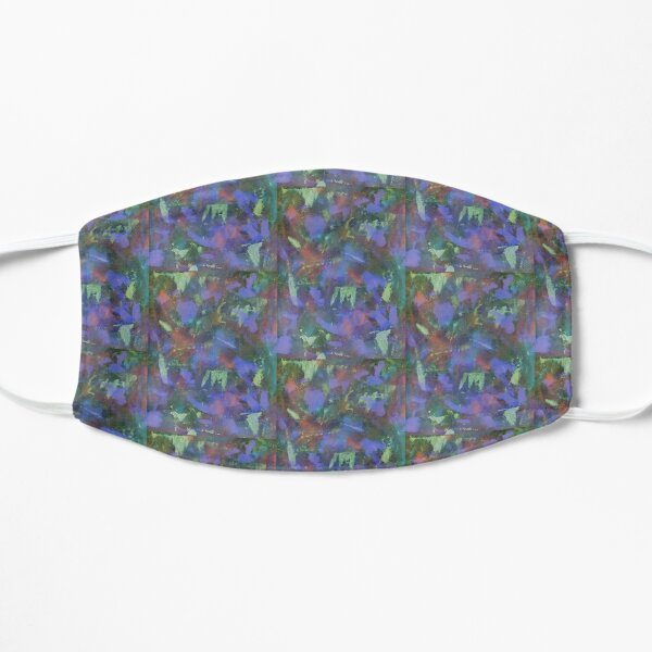 Blue Abstractions Mask
