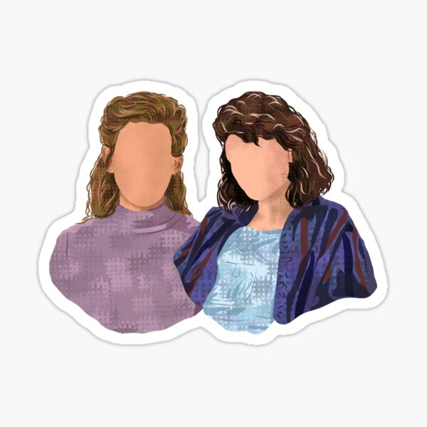 Jamie and Dani - The haunting of Bly Manor  Sticker