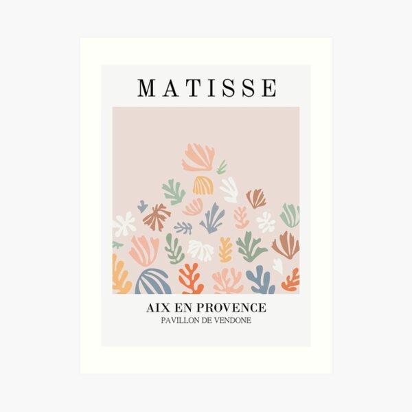 Henri Matisse - Blattspray - Papiers Découpés - Neu Kunstdruck