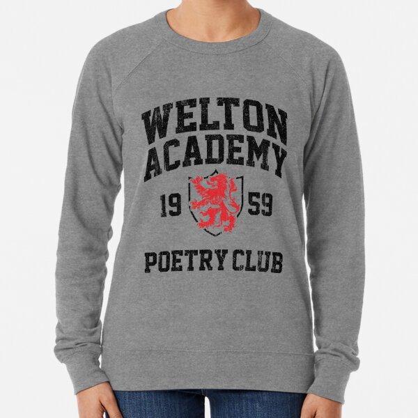 Welton Academy Poetry Club (Variant) Lightweight Sweatshirt