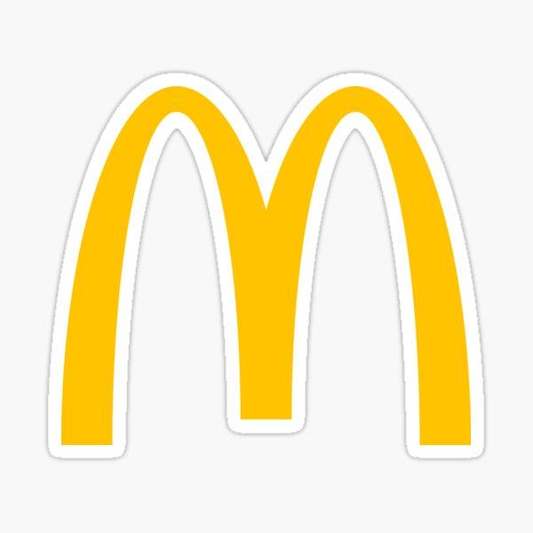 mcdonalds logo Sticker
