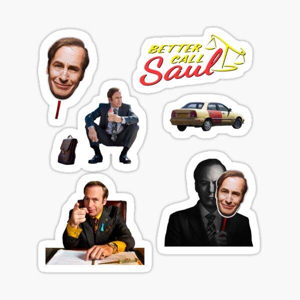 Pack d'autocollants Better Call Saul 1 Sticker