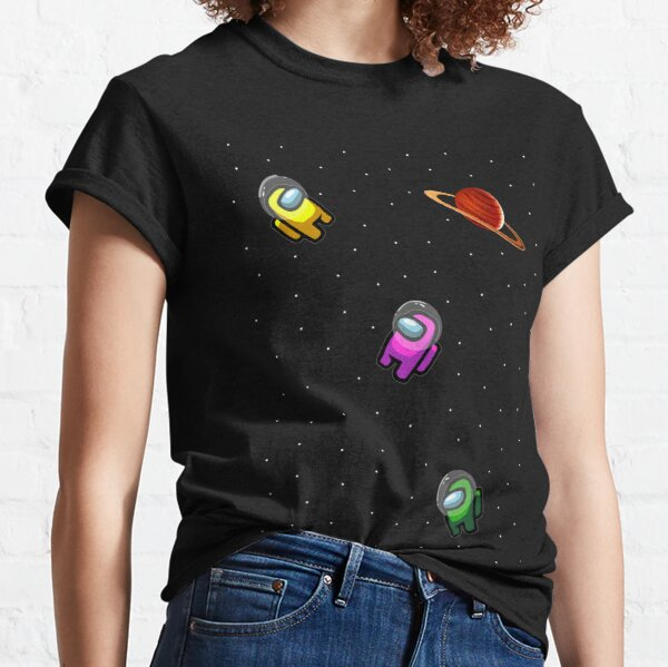 Space Crewmates_ Amog Us T-shirt classique