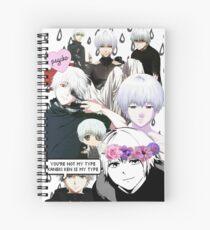 Kaneki Ken Spiral Notebook