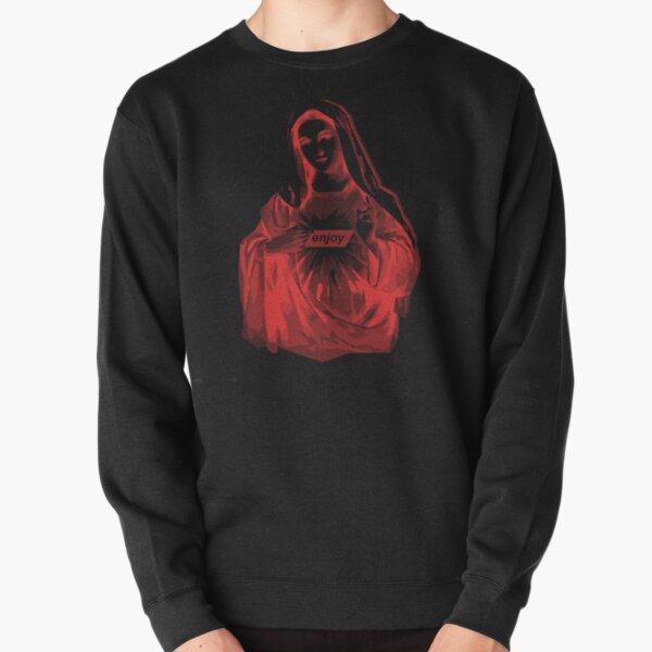 Enjoy Mary | Red Pullover Sweatshirt