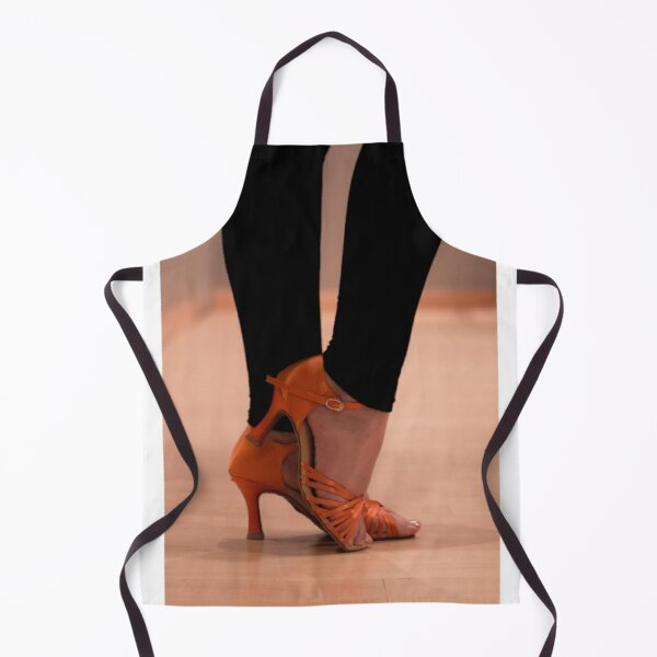 Woman Dance shoes Apron