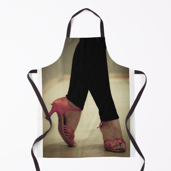 Salsa dance shoes. Women. Apron