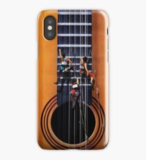 Surreal Guitar Climbers iPhone Case/Skin