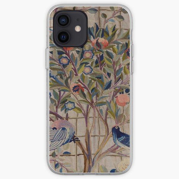 William Morris Kelmscott Trellis Embroidery iPhone Soft Case