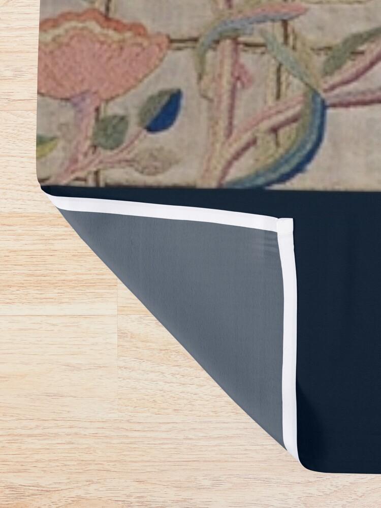 Alternate view of William Morris Kelmscott Trellis Embroidery Shower Curtain