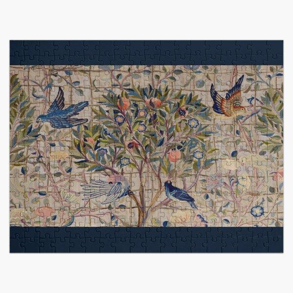 William Morris Kelmscott Trellis Embroidery Jigsaw Puzzle