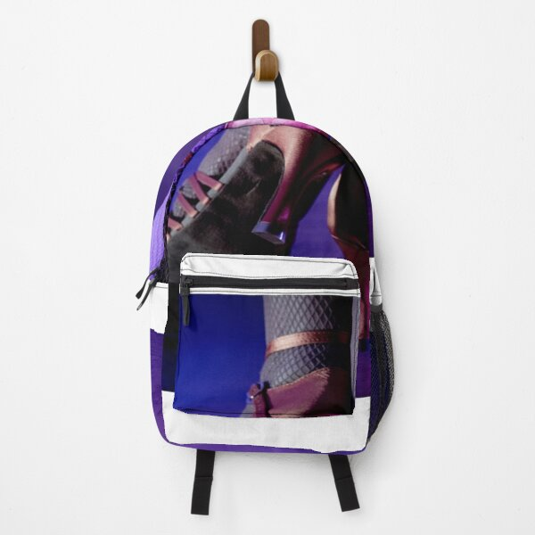 Feet woman dancing Backpack