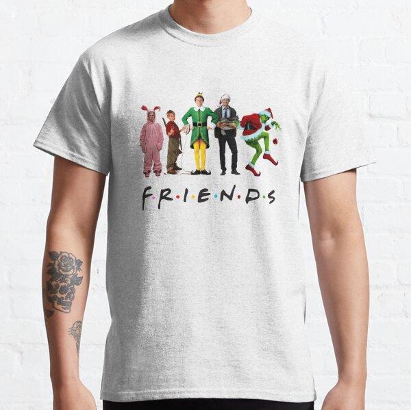 Amis de personnage de film de Noël classique T-shirt classique