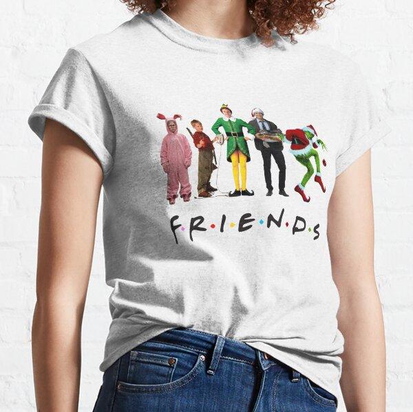 Klassischer Weihnachtsfilm Charakter Freunde Classic T-Shirt