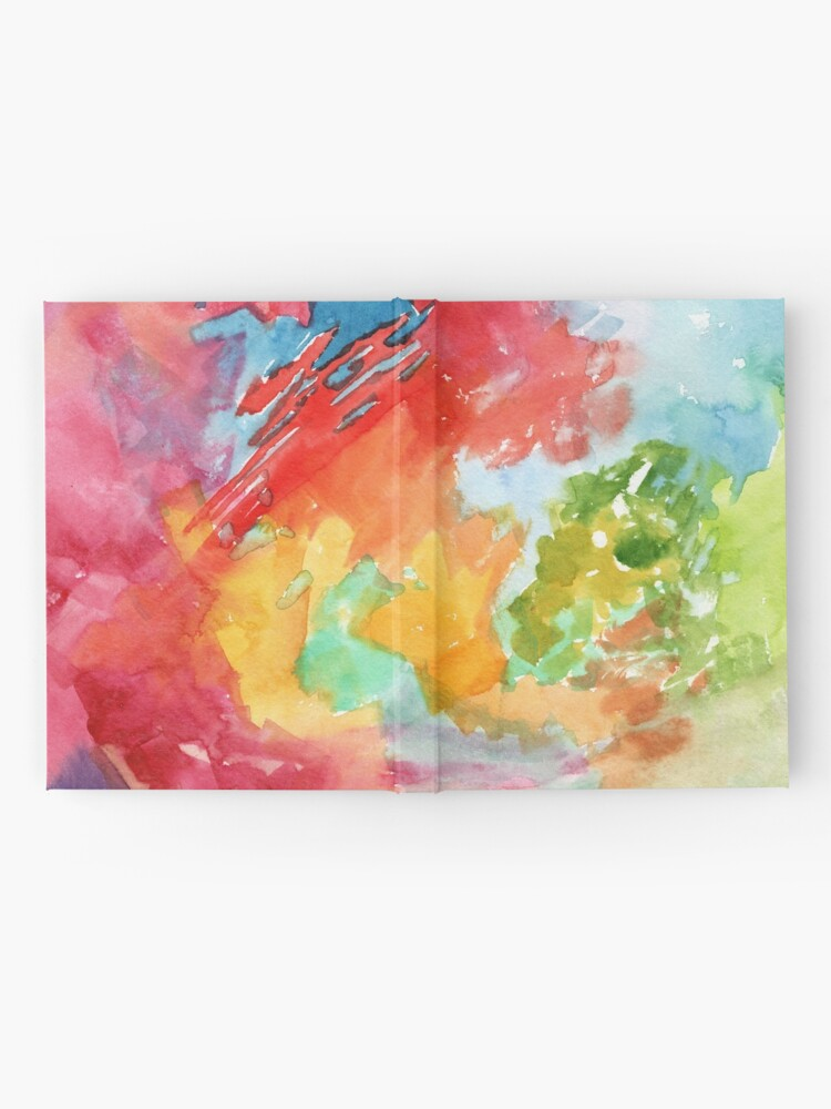 Alternate view of Autumn Arboretum Abstract Painting by Carrie Lacey Boerio Hardcover Journal
