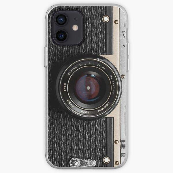 Classic vintage camera   retro photographer nostalgia   gold 01 iPhone Soft Case