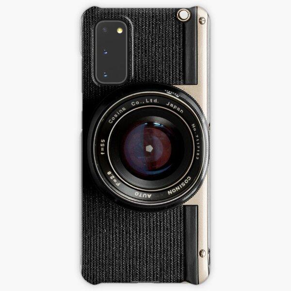 Classic vintage camera | retro photographer nostalgia | gold 01 Samsung Galaxy Snap Case