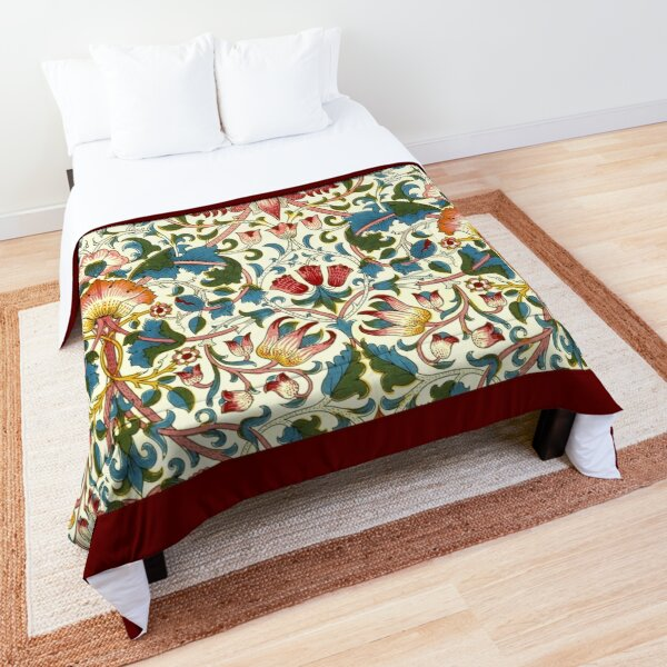 William Morris Lodden Comforter