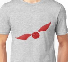 Snitch maroon Unisex T-Shirt