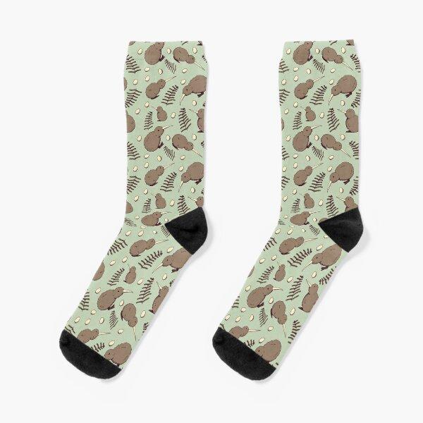 Kiwi Bird Socks