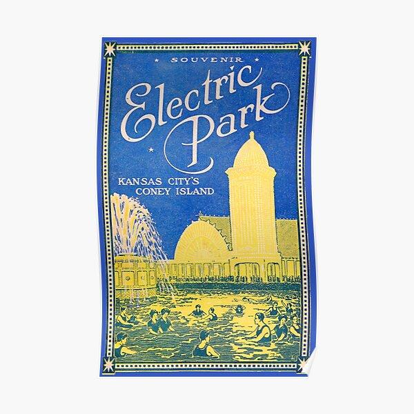 Elektrischer Park Poster
