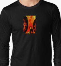 Orange Mix Long Sleeve T-Shirt