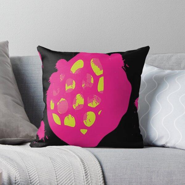 Seed Pod Punk Throw Pillow