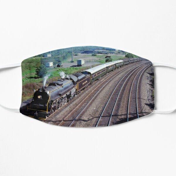 Reading Railroad Passenger Steam Train Flat Mask
